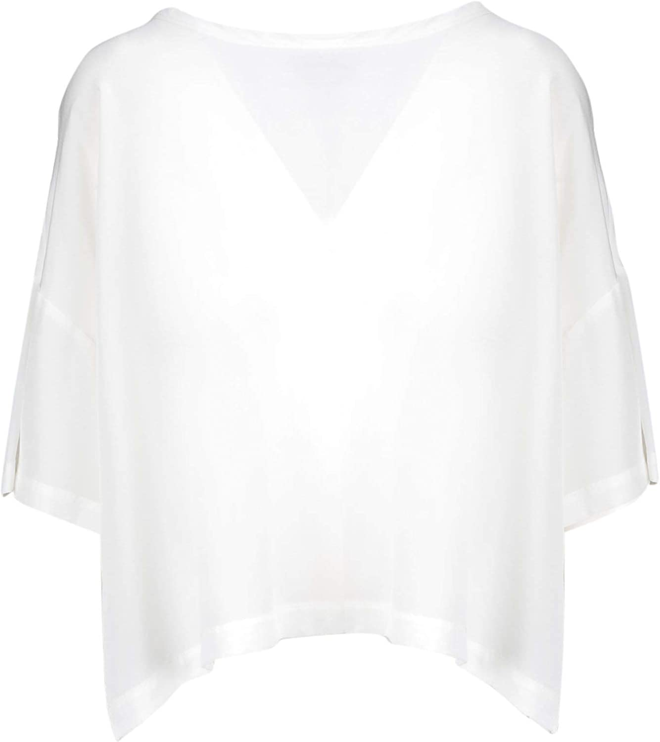 Malìparmi Women's JM44003004410001 White Silk Blouse