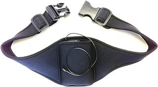 Savanizor Vertical Carrier Belt for Cellphones and Music Players, Lightweight, Comfortable Adjustable Cushioned Waist Belt for Biking, Hiking, Outdoor