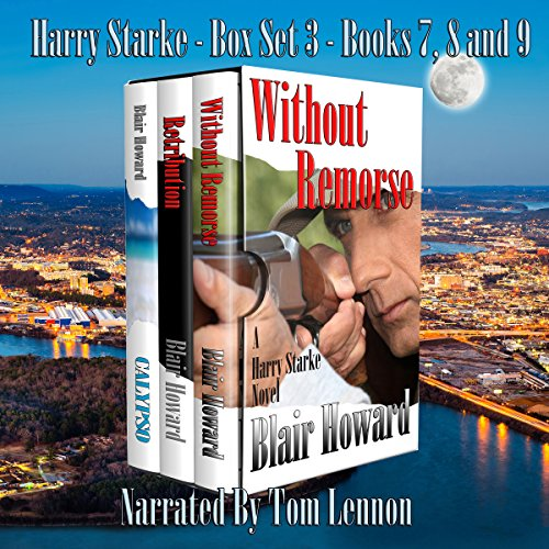The Harry Starke Series: Books 7-9 audiobook cover art