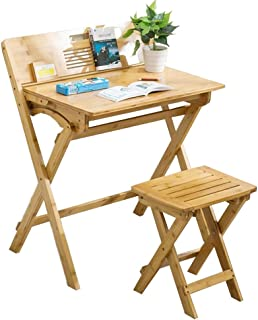 6ed7d479351f Folding table Nan Conjunto de Escritorio y Silla para niños Acabado de  Madera Suave, Liso