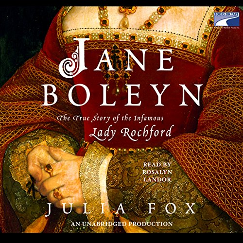Jane Boleyn audiobook cover art