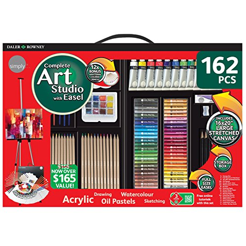 Daler Rowney Kit Pinturas Complete Art Set 162un 1600705