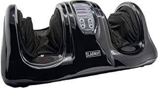 Slabway Shiatsu Foot Massager Machine, Massage for Feet, Calf, Arm, Leg, Therapy Relief for Chronic Nerve Pain, The Perfect Gift (Black)