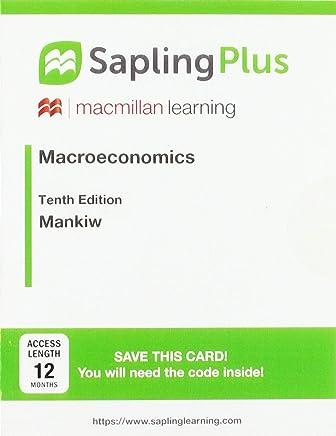SaplingPlus for Macroeconomics (12 Month Access Card)