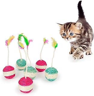 Juguete para Gato Que consisten en atrapar el rat/ón de Peluche en Movimiento Ideal para ara/ñar