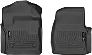 Husky Liners - 13311 Fits 2017-20 Ford F-250/F-350 with Standard Cab Weatherbeater Front Floor Mats