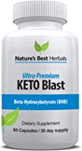 Ultra Premium Keto Blast | Weight Loss Supplement for Fast Fat Burn – Boost Energy & Speed Metabolism | BETAHYDROXYBUTYRATE (BHB) ketogenic Diet Pills - 800 mg, 60 Capsules / 30 Day Supply
