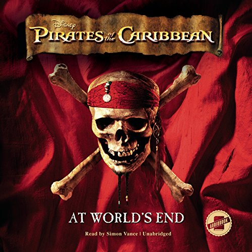 Pirates of the Caribbean: At World's End audiobook cover art
