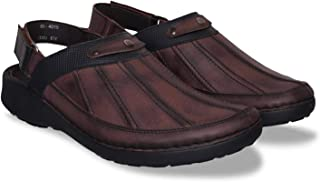 ID Men's Brown Clogs