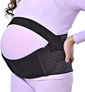 ELECDON Maternity Belt Pregnancy Support Belt Bump Band Abdominal Support Belt Belly Back Bump Brace Strap Prenatal Back B...