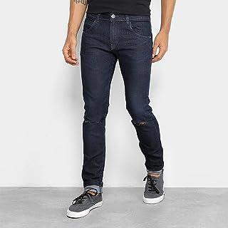 Calça Jeans Rock & Soda Skinny Rasgada Masculina