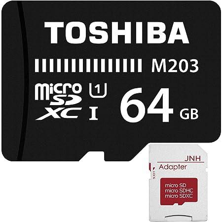 東芝 Toshiba 超高速UHS-I microSDXC 64GB + SD アダプター + 保管用クリアケース【2年保証】 [並行輸入品]