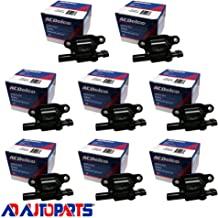 New AD Auto Parts OEM Ignition Coil Set (8) For For LS2 LS4 LS7 LS9 engines ACDELCO D513A D510C