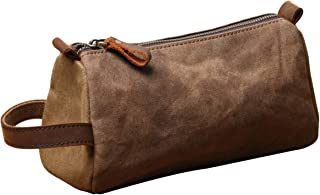 Dopp kit Shaving bag Small Toiletry Bag for Men - Overnight bag Hanging Canvas Travel Size Toiletries   Hygiene