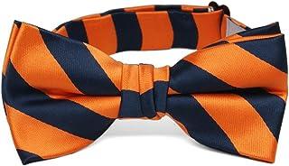 Sponsored Ad - TieMart Boys' Striped Bow Tie