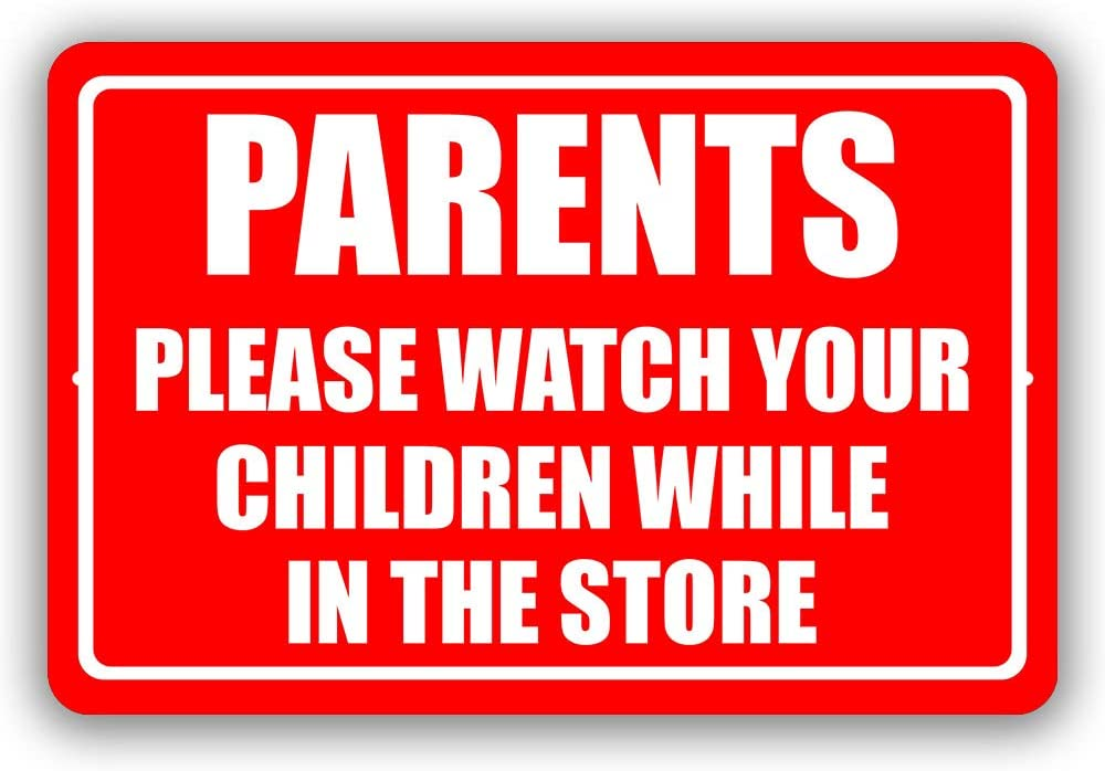 online shopping Parents Please Watch Recommended Your Children While Store Busi Metal The in