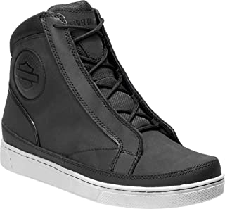 Men's Vardon 6.5-Inch Black Waterproof Motorcycle Boots D96175