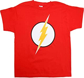 DC Comics Flash Logo T-Shirt Silver Foil