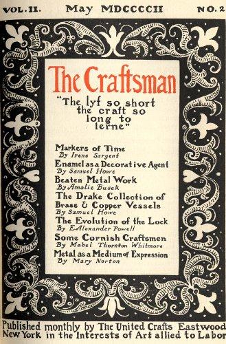 The Craftsman Magazine-Volume 2, Number 2-May 1902 (English Edition)