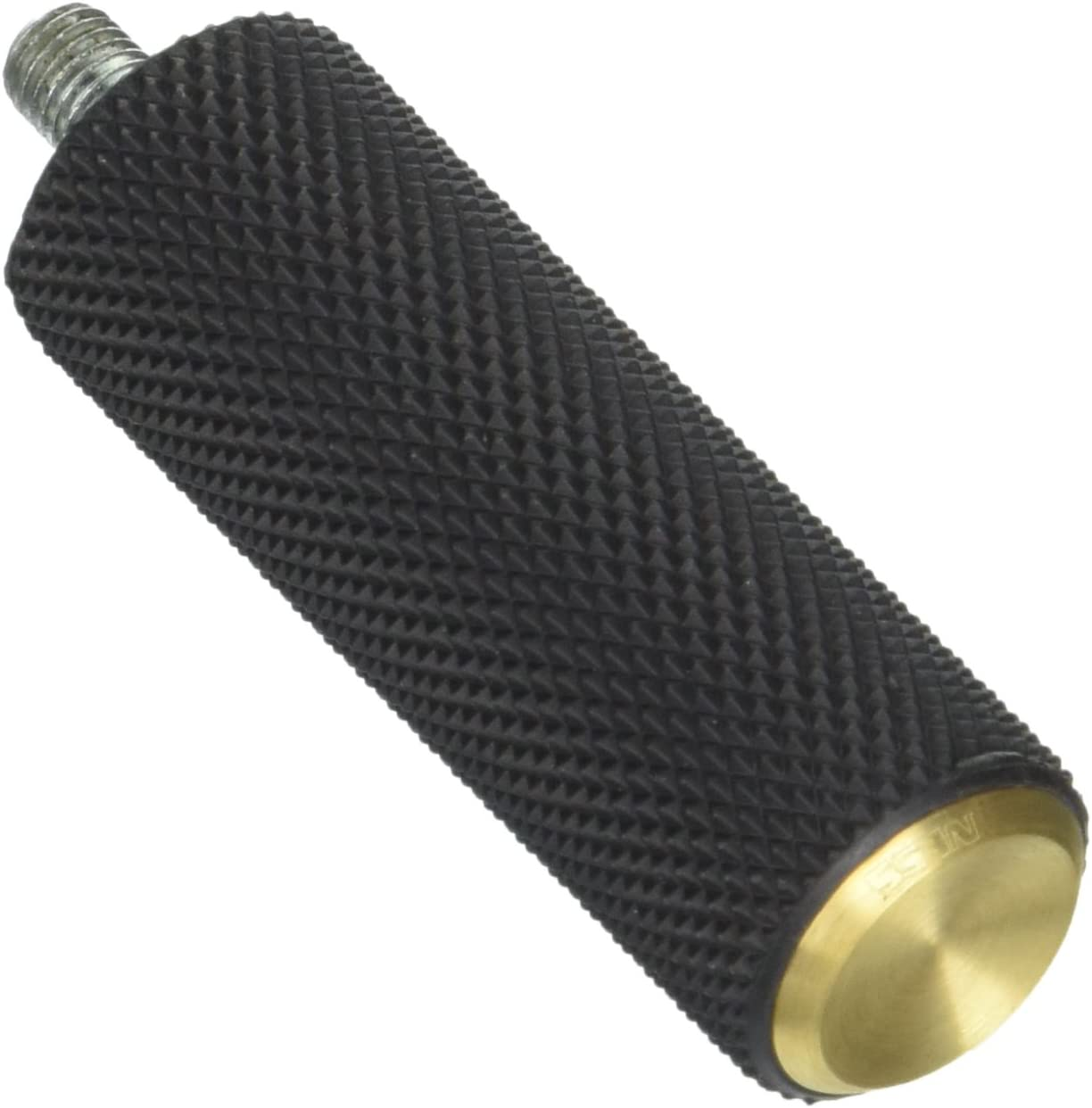 Arlen Ness 07-933 Brass Fusion Male-Mount Footpegs And Shift Peg