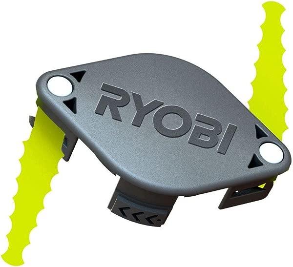 Ryobi ACFHRL2 Polycarbonate Bladed Trimmer Head Compatible 18 Volt 24 Volt And 40 Volt Strimmers 2 Pack