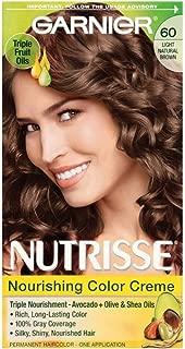 Garnier Nutrisse Nourishing Color Creme Light Natural Brown [60] 1 ea (Pack of 6)