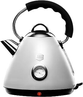 OBH Nordica - Bouilloire LEGACY électrique - Design vintage rétro et élégant - capacité 1,7 L avec indicateur de températu...