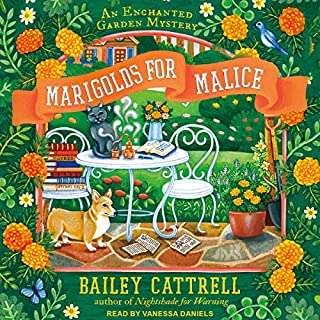 Marigolds for Malice audiobook cover art