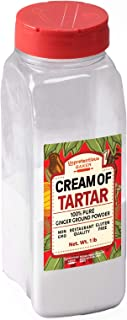 Cream of Tartar, 1 lb. by Unpretentious Baker, Highest Quality USP & Food Grade, Better than Restaurant Quality, Non-GMO, Kosher, Gluten Free, Vegan, Slotted Cap Spice Shaker
