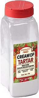 Cream of Tartar, 1 lb. by Unpretentious Baker, Highest Quality USP & Food Grade, Better than Restaurant Quality, Non-GMO, Kosher, Gluten Free, Vegan, Slotted Cap Spice Shaker