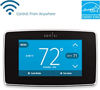 Emerson Sensi Touch Wi-Fi Smart Thermostat with...