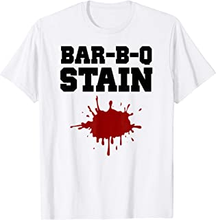 Best bbq stain white t shirt Reviews