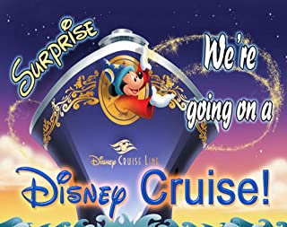 We're Going to Disney World We're Going On a Disney Cruise 30 Piece Puzzle Vacation Trip