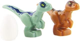 LEGO Jurassic World Baby Dinosaurs Green & Brown with Egg   New for 2018   Very Small
