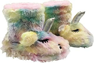 Unicorn Slippers Gifts Girls Boys Women House Slippers Memory Foam Fur Slippers