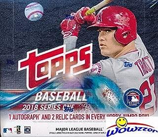 topps series 1 2018 hobby box