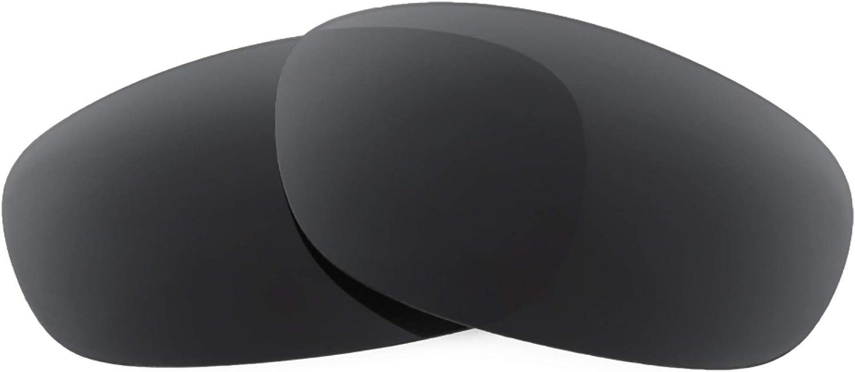 Revant Verres de Rechange pour Arnette Heist - Compatibles avec les Lunettes de Soleil Arnette Heist Noir Furtif - Non Polarisés