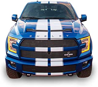 Bubbles Designs Decal Sticker Vinyl Body Racing Stripe Kit Compatible with Ford F150 SVT Raptor Shelby