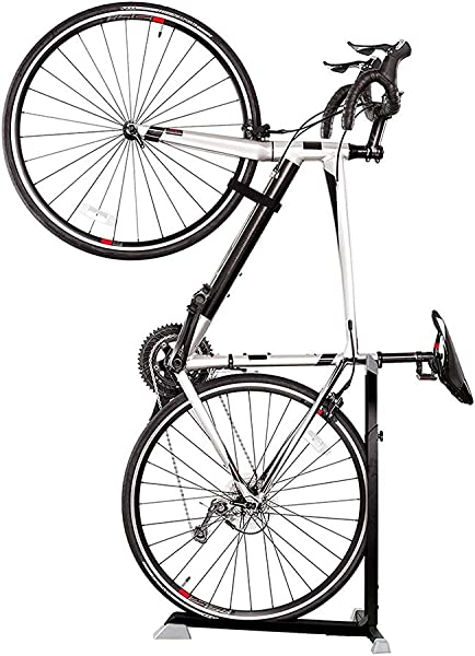 Bike Nook Bicycle Stand The Easy To Use Upright Design Lets You Store Your Bike Instantly In A Space Saving Handstand Position Freeing Floor Space In Your Living Room Bedroom Or Garage