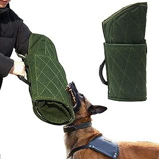 Morezi Dog Bite Sleeve Training Protection, Fits Both Sleeves, Small Dogs Training Biting Tugging Toy