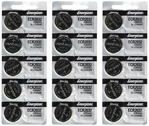 Energizer 2032 Battery CR2032 Lithium 15-3v- Batteries by Energizer Batteries