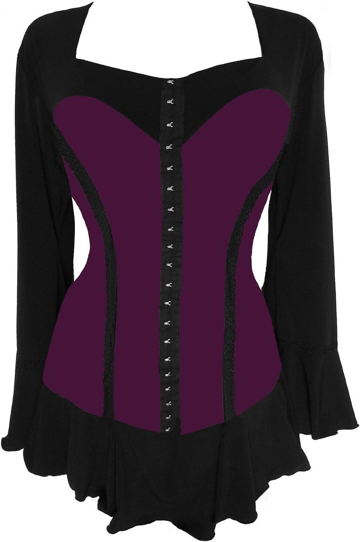 Dare To Wear Victorian Gothic Women's Plus Size Corsetta Corset Top