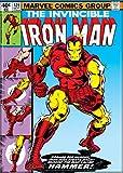 Ata-Boy Marvel Comics The Invincible Iron Man No. 126 2.5' x 3.5' Magnet for Refrigerators and Lockers