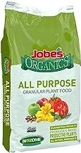 Jobe's Organics 09524 Purpose Granular Fertilizer, 16 lb, Brown