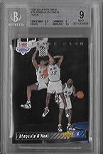 1992-93 Upper Deck Shaquille O'Neal Shaq Rookie Trade Card BGS 9