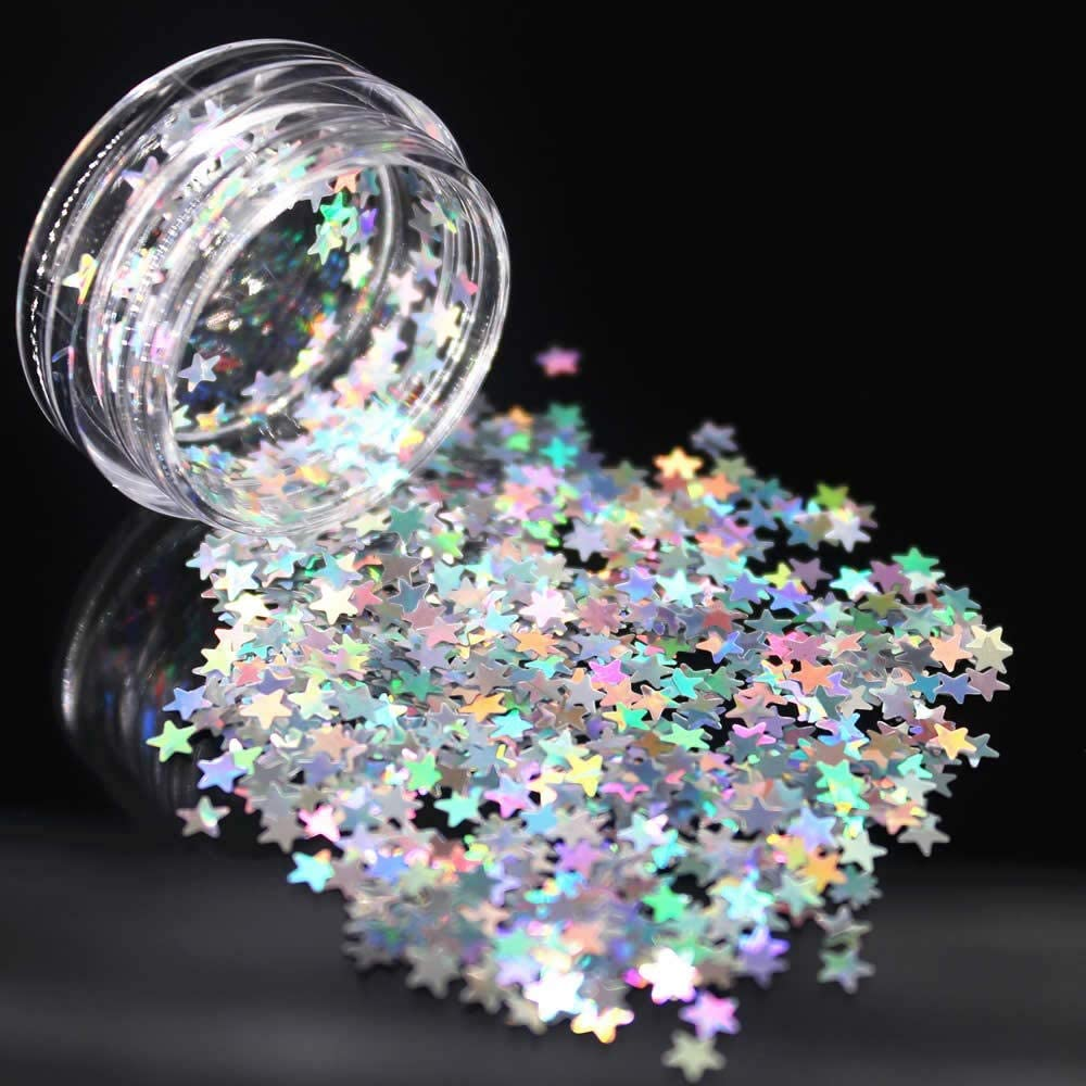 Hollow Out Gold Year-end annual account Nail Glitter Seasonal Wrap Introduction Small Rhinestone Irreg Sequins