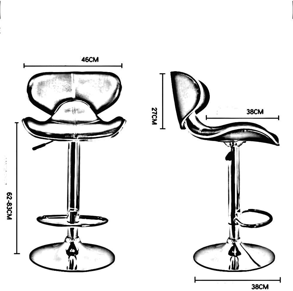 Tabouret de bar, chaise de bar simple chair (Couleur : C) D