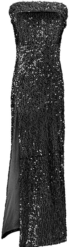 2021 Sexy Bra All items free shipping Off Shoulder Sequin Evening Spl Some reservation Dresses High Party