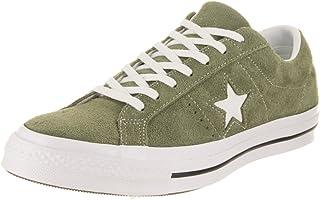 Converse Star OX Field Surplus Sneaker for Unisex, Hunter Green, Size 45 EU