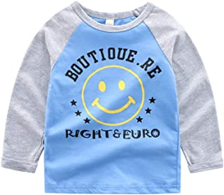 61f2fc5aca78 Rolayllove Children Kid Baby Girl Boy Long Sleeve Cartoon Tops Shirts Tee  Casual Clothes